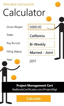 payroll deductions california calculator